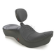 Mild Stitch Low-Profile Double-Bucket Seat w/Dual Backrest - 0810-1709