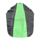 Black/Green Team Issue 3-Panel Grip Seat Cover - 25311