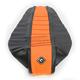 Black/Orange Team Issue 3-Panel Grip Seat Cover - 55314