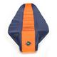 Dark Blue/Orange Team Issue 3-Panel Grip Seat Cover - 55315