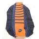 Dark Blue/Orange Pro Rib Kevlar Seat Cover - 55503