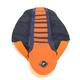 Dark Blue/Orange Pro Rib Kevlar Seat Cover - 55505