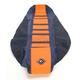 Dark Blue/Orange Pro Rib Kevlar Seat Cover - 55506