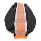 Black/Orange Pro Rib Kevlar Seat Cover - 55507
