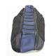 Black/Blue Pro Rib Kevlar Seat Cover - 55702