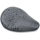 Tribal Solo Seat for Custom and Rigid Shovelhead Applications - L-100 TEBL
