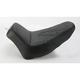 Tattoo Solo Leather Seat w/Black Stitch - 806-23-0112