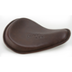Brown Leather Solo Seat - NYCDYNA-BRWN