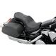 Flame Stitch Double Bucket Seat w/ Dual Backrest Capability - 0810-1405