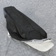 Standard Height Foam and Black Carbon Fiber Weave and Smooth Vinyl Seat Cover Kit w/Gel - 0910-H005J