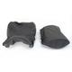 Black Waterproof Suede and Smooth Vinyl Performance Design Seat Kit w/Gel - 0910-H007JS