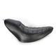 Black Enzo Solo Seat for 150mm Roland Sands Fender Kit - 76945