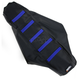 Black/Blue Ribbed Seat Cover - 0821-1815