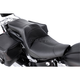 Black Leather LowIST 2-Up Seat - FA-DGE-0292