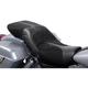 Black Leather TourIST 2-Up Air Seat - FA-DGE-0321