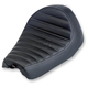 Black Horizontal Tuck N Roll Champion Seat - CO-VIN-DY-BH
