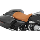 Brown Faux Leather Low-Profile Solo Seat - 0801-0877