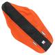 Orange/Black 3-Panel Grip Seat Cover - N50-6058