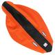 Orange/Black 3-Panel Grip Seat Cover - N50-6059