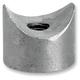 Coped 5/16 in.-18 x 1/2 in. L Threaded Steel Bungs - 001526
