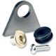 Rubber Mount Steel Weld-On Triangular Tab - 001276