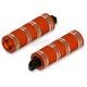 Orange Fat Custom Footpegs - HDPG-4566OO