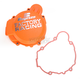 Orange Factory Racing Ignition Cover - SC-41AO