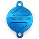 Blue Magnetic Oil Filter Cover - 00-01980-25