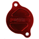 Red Magnetic Oil Filter Cover - 03-01981-24