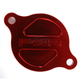 Red Magnetic Oil Filter Cover - 03-01983-24