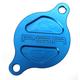Blue Magnetic Oil Filter Cover - 05-01980-25