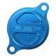 Blue Magnetic Oil Filter Cover - 07-01981-25