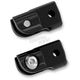Black Anodized Rear Folding Footpeg Adapters - FRMT401-B
