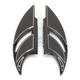 Black Elite Edge Passanger Floorboards - FB-R002-B