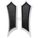 Black Instigator Extended Driver Floorboards - FBF91-IN