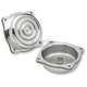 Polished Ripple CV Carb Tops - CT-CAR-TR-PS