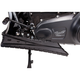 Black V-Line Driver Floorboards for Indian - TM-6010RC