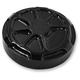 Decadent Black Powder Oil Coat Dipstick Cover - LA-F370-00B