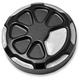 Satin Black Laser Fusion Oil Dipstick Cover - LA-F370-00M