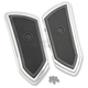 Chrome FTZ Passenger Floorboards - 0036-1009-CH