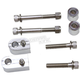 Chrome Floorboard Extension Hardware Kit - FB-EXT14C