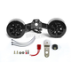 Glossy Black Cool-Master V-Twin Cooling System - CMGB