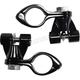 Black Adjustable Highway Peg Mount - 60022
