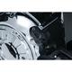 Satin Black Clutch Arm Cover - 7683