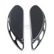 Black Elite Velocity Driver Floorboards - FB-0003-B
