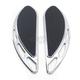 Chrome Elite Velocity Driver Floorboards - FB-0003-C