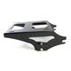 Gloss Black Locking Two-Up Detachable Tour Pak Mounting Rack - MWL-427-14GB