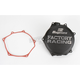 Factory Racing Black Clutch Cover - CC-27AB