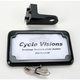 In-Close Horizontal License Plate Holder - CV4605BLH