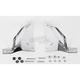 Steel Quick-Detach Backrest Mounting Kit - 34-3007-01